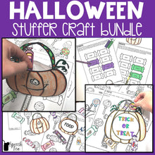 Load image into Gallery viewer, Halloween Speech Therapy Stuffer Craft Bundle