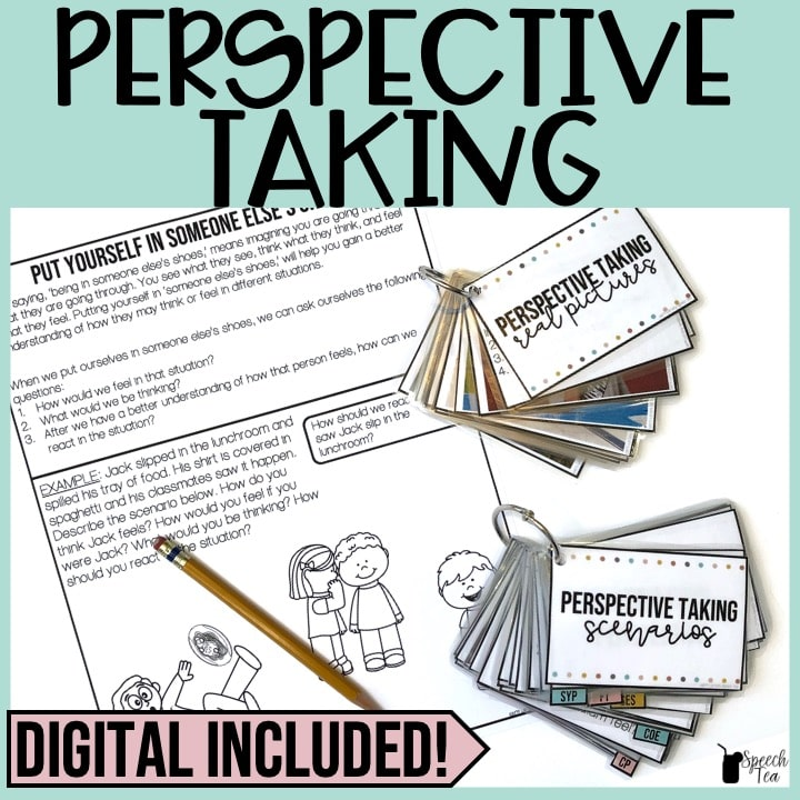 Perspective Taking: Teach and Practice with No Print Option