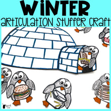 Load image into Gallery viewer, Winter Articulation Stuffer Craft