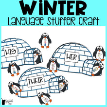 Load image into Gallery viewer, Winter Language Stuffer Craft