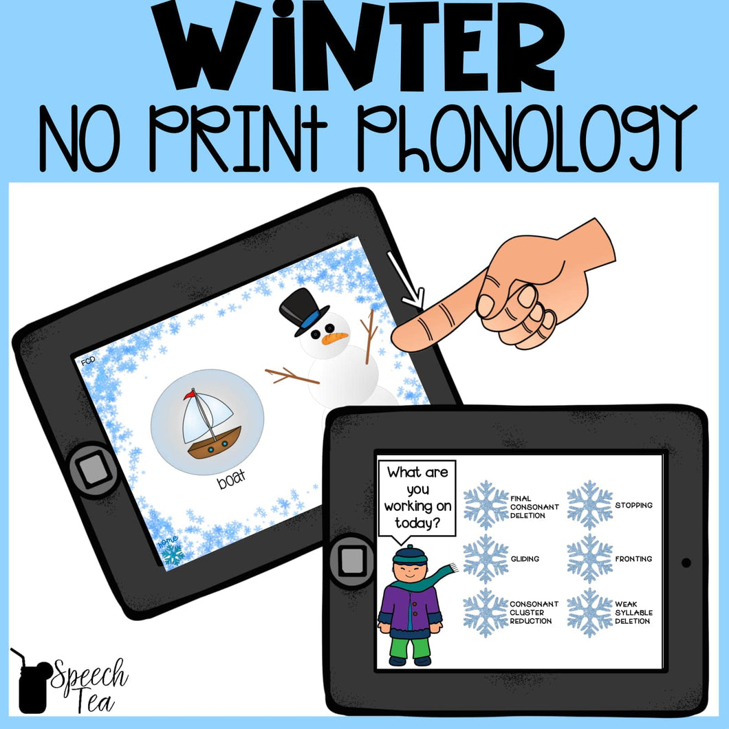 No Print Winter Phonological Processes