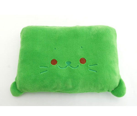 Green Sirotan Pillow - Hannari  - 1