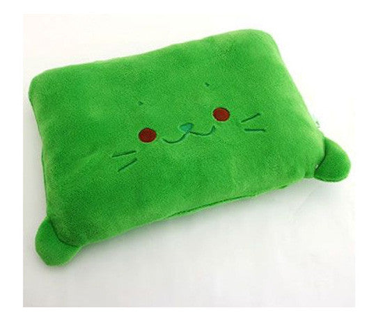Green Sirotan Pillow - Hannari  - 2