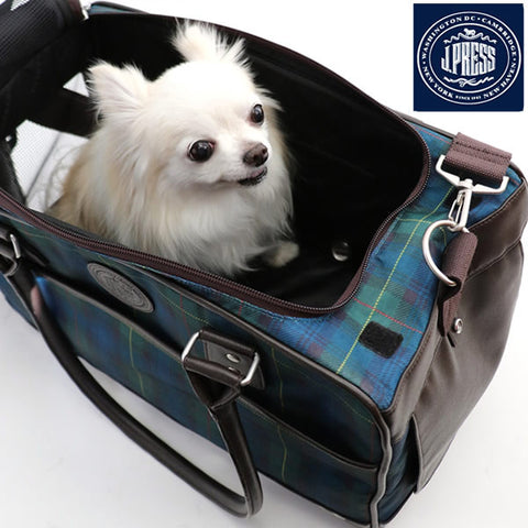 JPress Plaid Carrier Bag - Hannari  - 1
