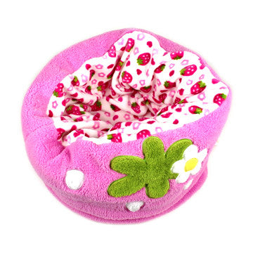 Pink Strawberry Sleeping Bag - Hannari  - 1