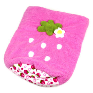 Pink Strawberry Sleeping Bag - Hannari  - 4