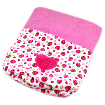 Pink Strawberry Sleeping Bag - Hannari  - 5