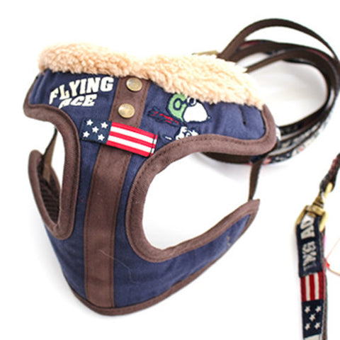 Snoopy Flying Harness and Leash Set - Hannari  - 1