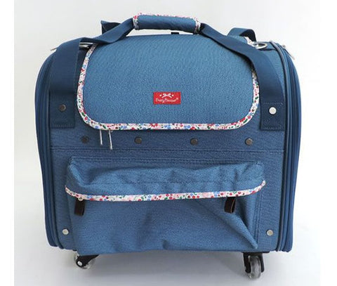 Denim 4-Wheel Carrier - Hannari  - 1