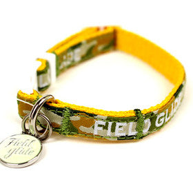 Yellow Camouflage Collar - Hannari  - 1