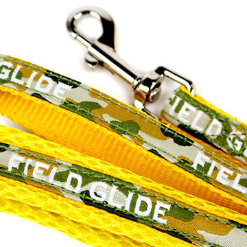 Yellow Camouflage Leash - Hannari  - 1