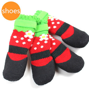 Strawberry Rubber Shoes - Hannari  - 1