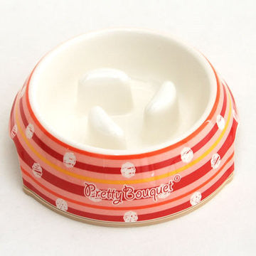 "Stripes ""Slow Down"" Bowl - Hannari  - 1"