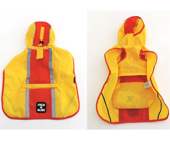 Red and Yellow Raincoat - Hannari  - 2