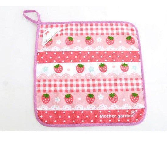 Cutie Strawberry Hand Towel - Hannari  - 1