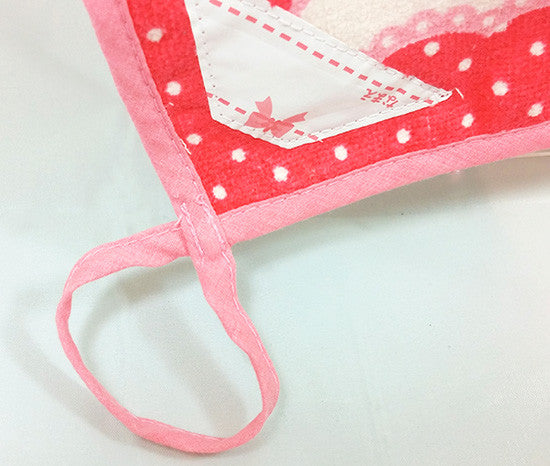 Cutie Strawberry Hand Towel - Hannari  - 4