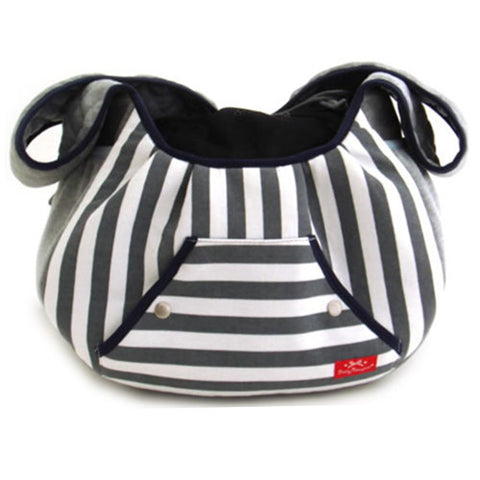 Grey Stripes Back Pack Sling - Hannari  - 1