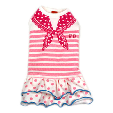 Pink Sailor Dress - Hannari  - 1