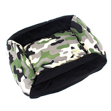 Square Camo Bed - Hannari  - 1