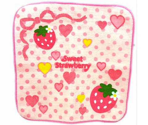 Cutie Strawberry Mini Towel - Hannari  - 1
