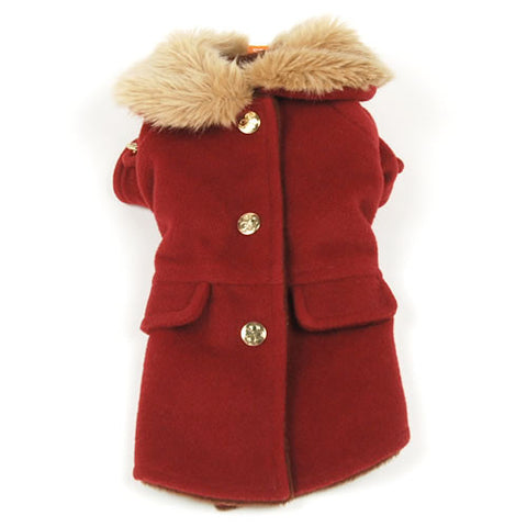 Red Fur Coat - Hannari  - 1