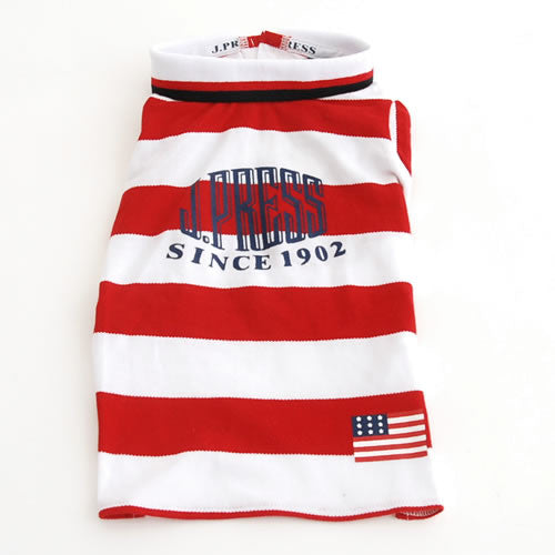 Red Stripes J Press Shirt - Hannari  - 3