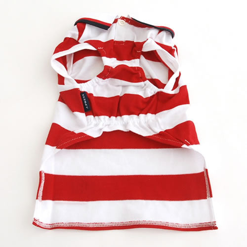 Red Stripes J Press Shirt - Hannari  - 4