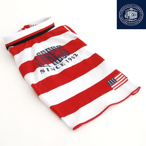 Red Stripes J Press Shirt - Hannari  - 2