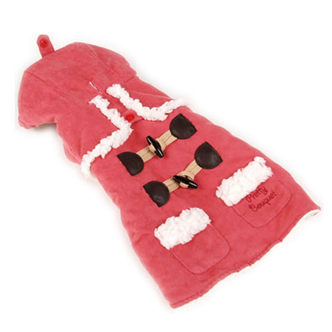 Pink Fleece Coat - Hannari  - 1