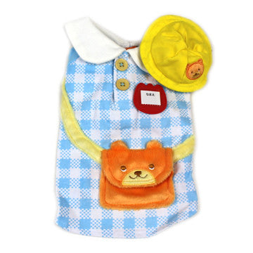 Blue Bear School Costume - Hannari  - 1
