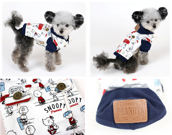 Snoopy and Friends Comic Sweater - Hannari  - 3