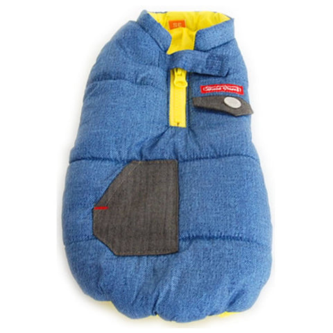 Blue Air Vest Coat - Hannari  - 1