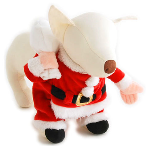 Santa Outfit with Christmas Pouch Apron - Hannari  - 1
