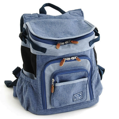 Denim Back Pack - Hannari  - 1