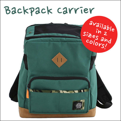 Dog Back Pack Carrier - Hannari  - 1