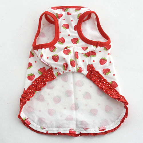 Strawberry Print Dress