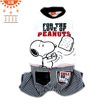 """For The Love of Peanuts"" Overalls - Hannari  - 1"