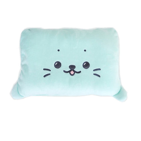 Sky Blue Square Sirotan Pillow