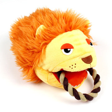 Lion Puppet Rope Toy - Hannari  - 1