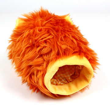Lion Puppet Rope Toy - Hannari  - 3