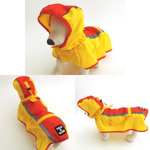 Red and Yellow Raincoat - Hannari  - 4