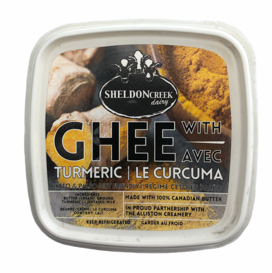 Ghee with Turmeric 250g - From The Farmer.ca