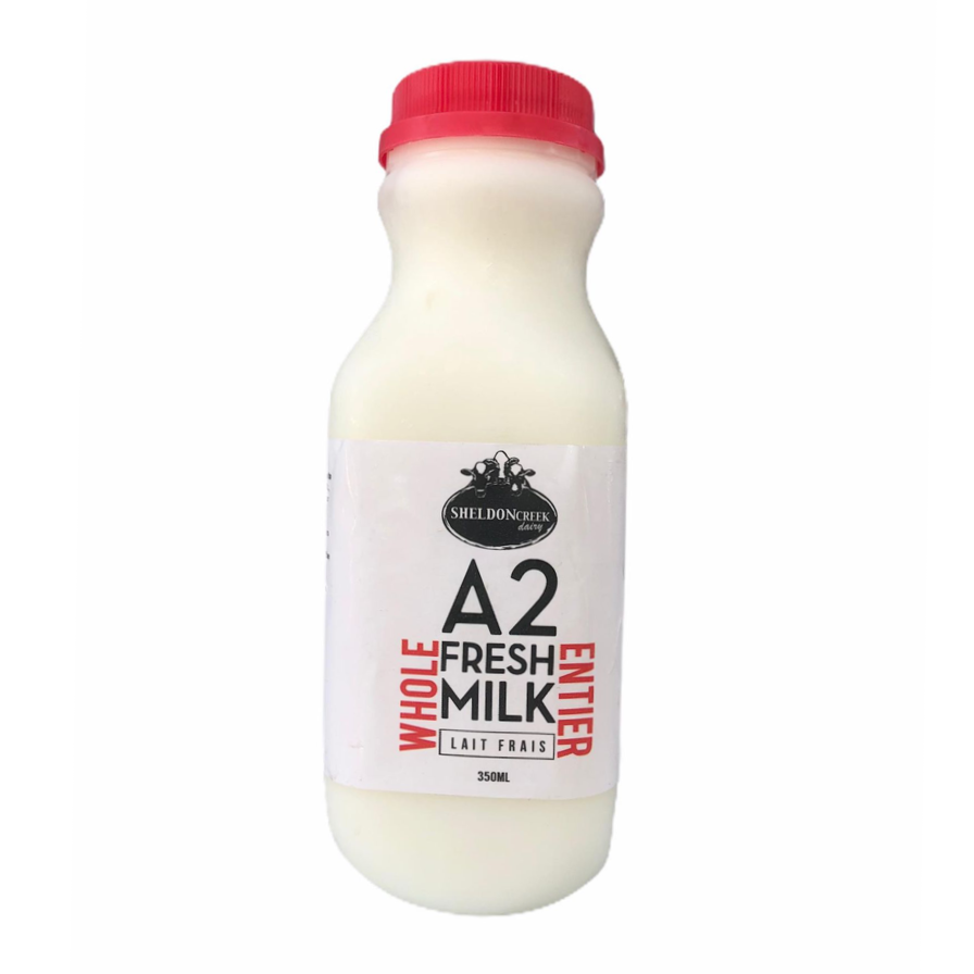 A2 Whole Milk 350mL - From The Farmer.ca