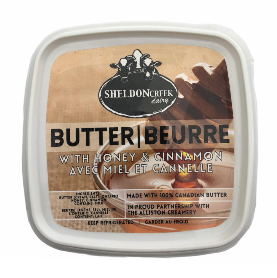 Butter with Honey and Cinnamon - From The Farmer.ca