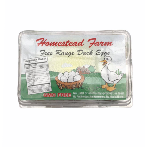 Duck Eggs 6 pack - From The Farmer.ca