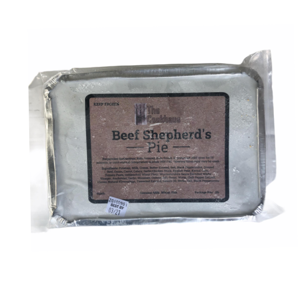 Frozen Meals Beef Shepards Pie - From The Farmer.ca
