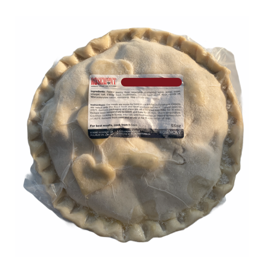 "10"" Frozen Apple Pie - From The Farmer.ca"
