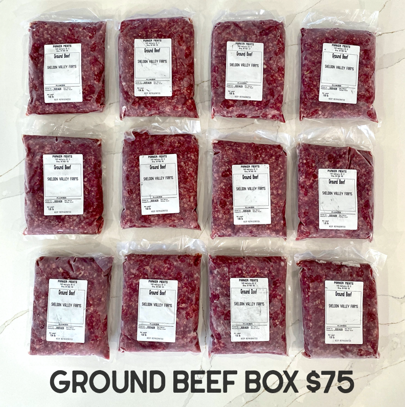 Ground Beef Box - From The Farmer.ca