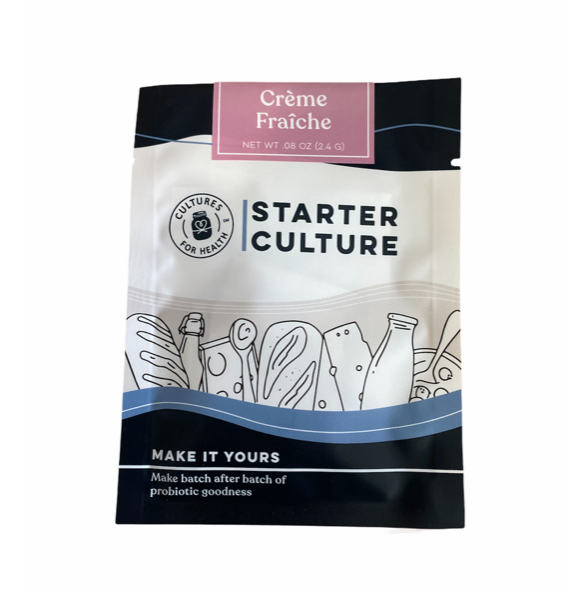 Creme Fraiche Starter Culture - From The Farmer.ca