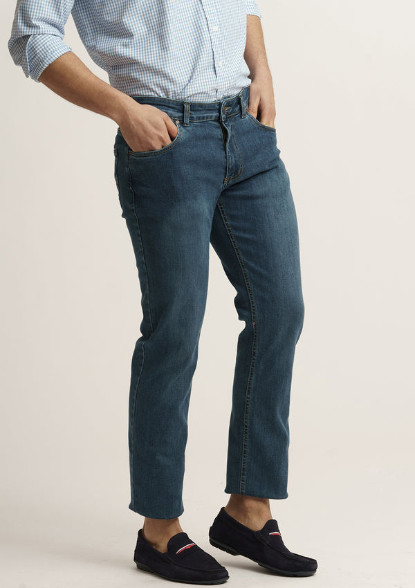 PANTALON AZUL DENIM MEDIO